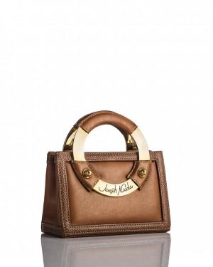 Mini Toffee Leather Handbag