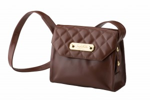 California Crossbody Quilted Nougat
