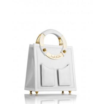 Medium Pearl Leather Handbag