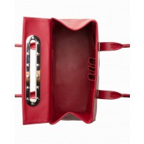 4 Lola Large Cherry Tote w Polished Nickel Hardware