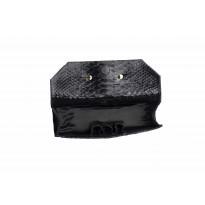 California Clutch Obsidian Black Python