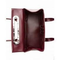 Lola Large Vino Tote w/ Polished Nickel Hardware